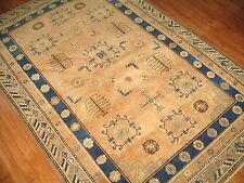 Antique East Turkestan Khotan Rug Size 4'9''x7'1''