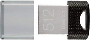 PNY 512GB Elite-X Fit USB 3.1 USB 3.0 Flash Drive P-FDI512EXFIT-GE