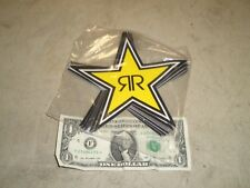 Authentic Rockstar Energy Drink Star Sticker Decal~Free Shipping