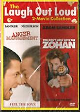 **BRAND NEW** ANGER MANAGEMENT & YOU DON'T MESS WITH THE ZOHAN (DVD, 2013)