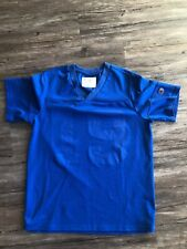 VINTAGE CHAMPION FOOTBALL JERSEY Blue 19 BLANK SIZE Medium M MENS Rare New York