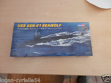 MAQUETTE SOUS MARIN  USS SSN21 SEA WOLF 1/700