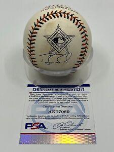 Barry Bonds Signed Autograph OMLB 1993 Orioles All Star Game Baseball PSA DNA *0