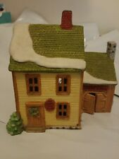 Department 56 New England Village House & Livery Stables Lights Up