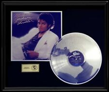 MICHAEL JACKSON THRILLER RARE LP GOLD RECORD PLATINUM  DISC ALBUM FRAME NON RIAA