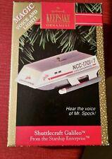 Star Trek: Galileo Shuttle Hallmark ornament