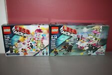 Lego #70804 ICE CREAM MACHINE & 70803 CLOUD CUCKOO PALACE Lot - 100% Complete!