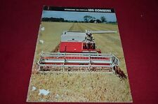 International Harvester 105 Combine Dealer's Brochure AMIL8