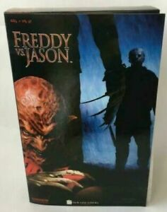Sideshow Collectibles Freddy VS Jason Krueger 12 inch Action Figure Rare Item