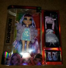 Rainbow High Violet Willow - Purple Fashion Doll with 2 Outfits - New for 2020!