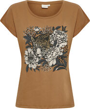 CREAM - 10608274 BLUSE / T-SHIRT / TOASTED COCONUT /   38 - M