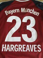 Trikot Bayern München - Nr 23 Hargreaves mit Autogramm - 2 XL