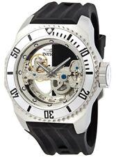Invicta Russian Diver Automatic Silver Dial Black Rubber Men's Watch 25611 SD