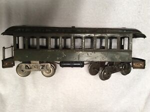 Lionel standard gauge passenger car No.29 day coach 1910