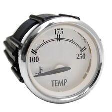 Faria Boat Temperature Gauge GBC099A | Newport Silver Series 2 Inch