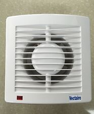 Vectaire AS10 Plus Extractor Fan Bath Room Toilet Shower Wall Ceiling White