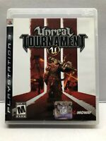 Unreal Tournament III (Sony PlayStation 3, 2007) Complete w/ Manual - Tested
