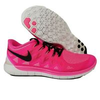 Nike Womens FREE 5.0 running trainers 642199-603 sneakers shoes SIZE 10.5 Pink