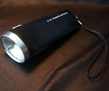 Vintage CGT FRENCH LINE Acculux Flashlight Torch Lampe
