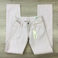 Diesel Matic Straight Stretch Women's Jeans Size 24 Actual W25 L32 NWT (AG14)