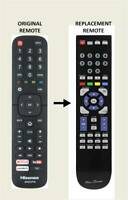 RM-Series® Replacement Remote Control for Hisense LTDN65XT910XWTSEU3D Smart TV