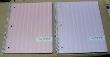 Carolina Pad Pearl Stripe 1 Subject Notebook 2 Pack (91179) Assorted Colors