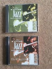 The Great Jazz Vocalists Billie Holiday and Ella Fitzgerald CDs x 2
