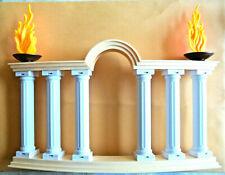 Playmobil,Arched Column,Fluted Pillars,Flames,Roman Arena,Colleseum