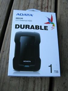 ADATA HD330 2.5 External Hard Drive HDD 1TB Shock Resistant Slim New Sealed