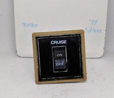 1978 Oldsmobile Cutlass Cruise Control Switch (#3030)