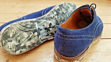 Original Prime Shoes Halbschuhe Gr.42 Velour-Kalbleder Marine  w.neu