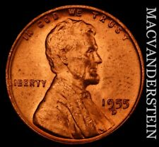 1955-S Lincoln Wheat Cent - Choice Gem Brilliant Uncirculated  No Reserve  #T758