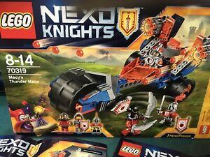 LEGO Nexo Knights 70319 - Macy's Thunder Mace Ages 8 - 14 New LEGO Kids Activity