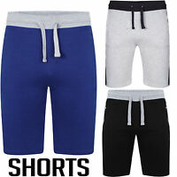 NEW MENS SWEAT SUMMER FLEECE SHORTS JOGGING SPORTS JERSEY PLAIN GYM JOGGERS SIZE