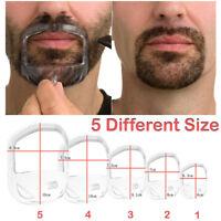 Shaving Template Shaper Men Goatee Style Design Beard Mustache Shaping Tool AW