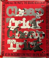 1980 Promo Poster Cheap Trick *Found All The Parts* Epic Records 33X38'' Pb8 M3