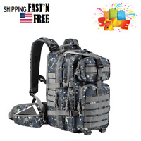 35L Military Tactical Backpack, Army Molle Bag, Small Rucksack for Hunting