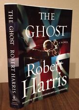 The Ghost-Robert Harris-SIGNED-First Edition/1st Printing-Basis for Ghost Writer
