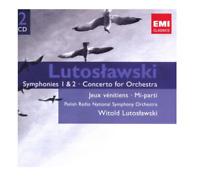 Lutoszlawski: Symphonies 1 & 2 / Concerto for Orchestra / Jeux vinitiens / Mi-pa