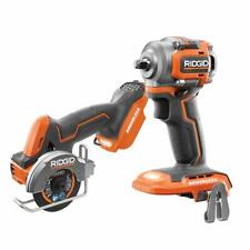 RIDGID Combo Tools 2-Tool 18-Volt Sub-Compact Lithium-Ion Brushless Cordless