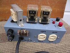 dual Power relay on & off switch x2 20A great condition w/tested good. u.s.a