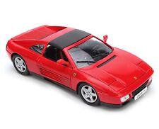 BBURAGO 1/18 FERRARI RACE & PLAY FERRARI 348TS DIECAST MODEL CAR 18-16006RD