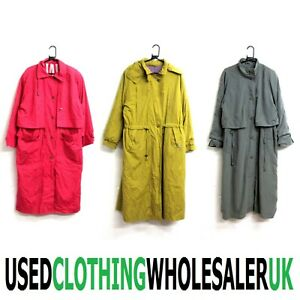 11 GRADE B WOMEN'S 80's VINTAGE MAC OVER COATS WINTER WHOLESALE CLOTHING JOBLOT