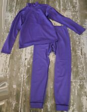 PATAGONIA Kids Midweight CAPILENE Mock Neck 1/4 Zip Shirt Pants Baselayer Set 14
