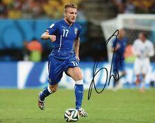 Autografo Ciro Immobile Foto Calcio Asta di Beneficenza Soccer Coa Signed Sport