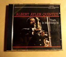 ALBERT AYLER QUINTET - TRUTH IS MARCHING IN - CD