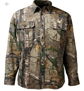 Men's Realtree Collared Button Up long sleeve Shirt