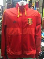 Adidas Spain Anthem Jacket World Cup 2010 Red Yellow Size S Men's Only