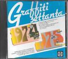 """CD FUORI CATALOGO 1988 """" GRAFFITI SETTANTA 1974 - 1975 """" PRAVO BAGLIONI BERTI"""