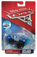 Disney Cars 3 Splash Racers Fabulous Lightning McQueen Vehicle - New Boxed